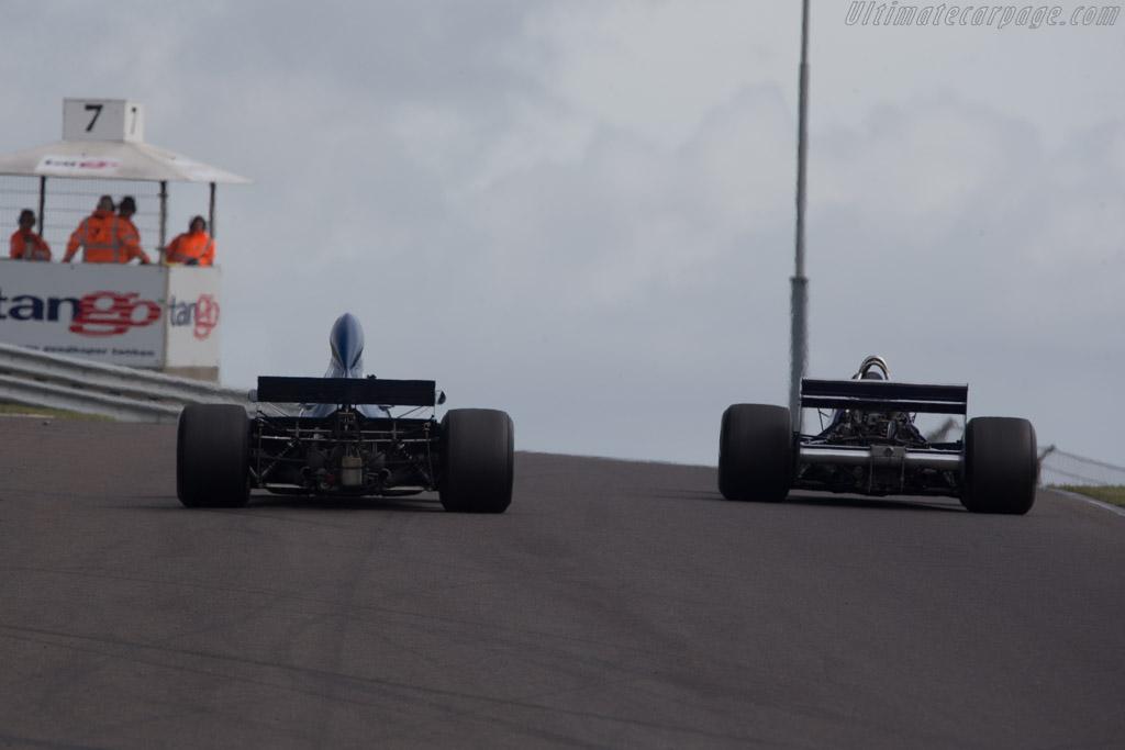 Tyrrell 006 Cosworth - Chassis: 006 - Driver: John Delane  - 2014 Historic Grand Prix Zandvoort