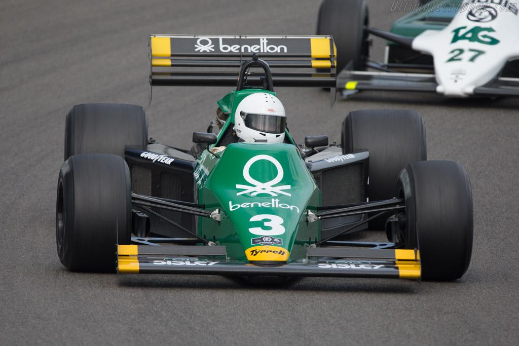 Tyrrell 012 Cosworth - Chassis: 012/1 - Driver: Ian Simmonds - 2014 Historic Grand Prix Zandvoort