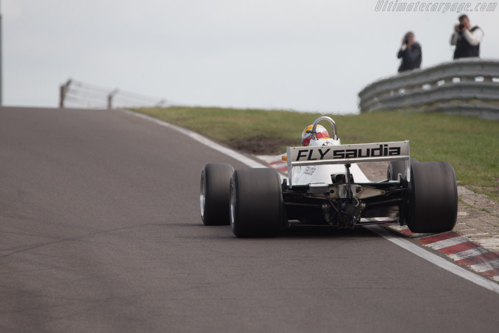 Williams FW07C Cosworth - Chassis: FW07C/11 - Driver: Christophe d'Ansembourg  - 2014 Historic Grand Prix Zandvoort