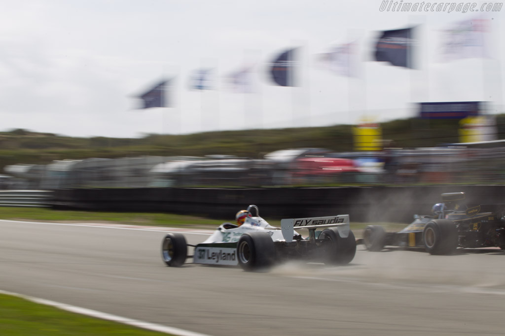 Williams FW07C Cosworth - Chassis: FW07C/11 - Driver: Christophe d'Ansembourg  - 2014 Historic Grand Prix Zandvoort