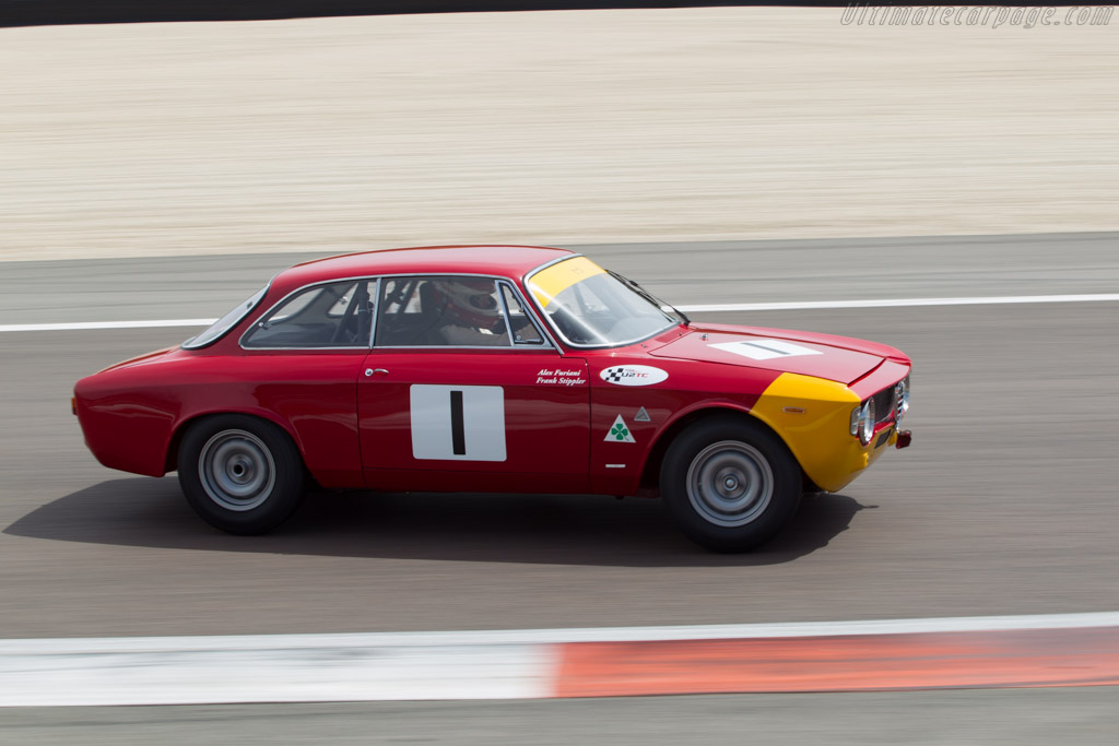 alfa romeo giulia sprint gta chassis 613056 driver alex furiani frank stippler 2014. Black Bedroom Furniture Sets. Home Design Ideas