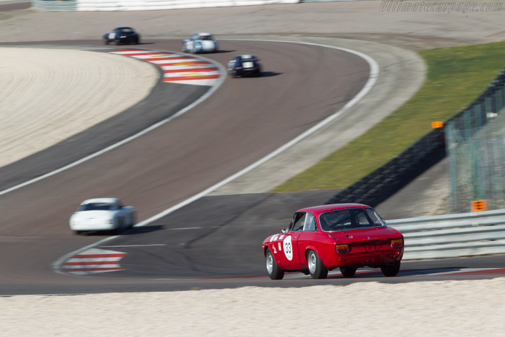 Alfa Romeo 1600 GTA - Chassis: AR613886 - Driver: Xavier Beaumartin  - 2014 Grand Prix de l'Age d'Or