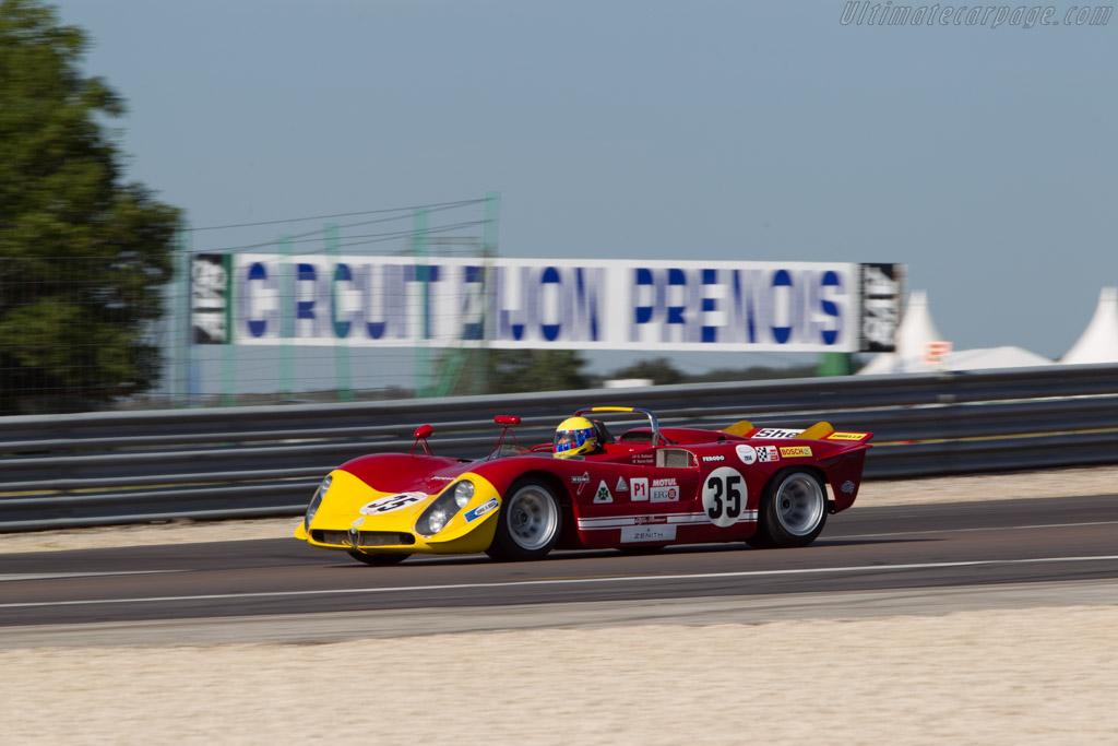 Alfa Romeo 33/3 - Chassis: 10580-023 - Driver: Nanni Galli  - 2014 Grand Prix de l'Age d'Or