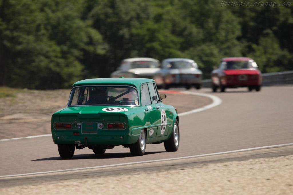 Alfa Romeo Giulia Ti Super - Chassis: AR595500 - Driver: Patrick Wilwert / Tom Mailleit  - 2014 Grand Prix de l'Age d'Or