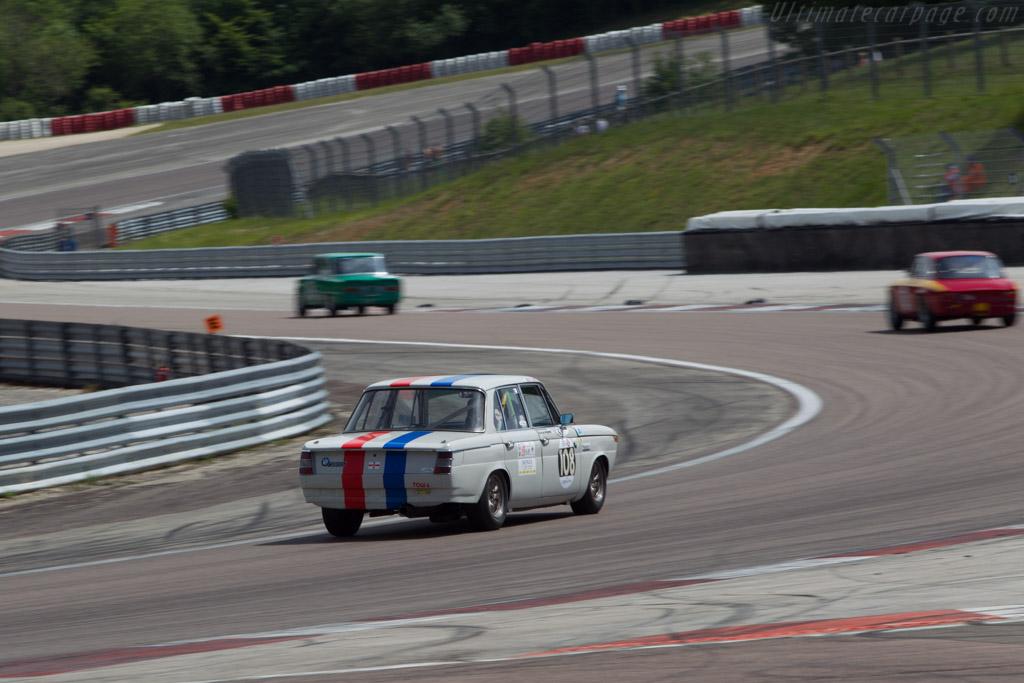 BMW 1800 Ti  - Driver: Marcus Mahy / George Haynes  - 2014 Grand Prix de l'Age d'Or