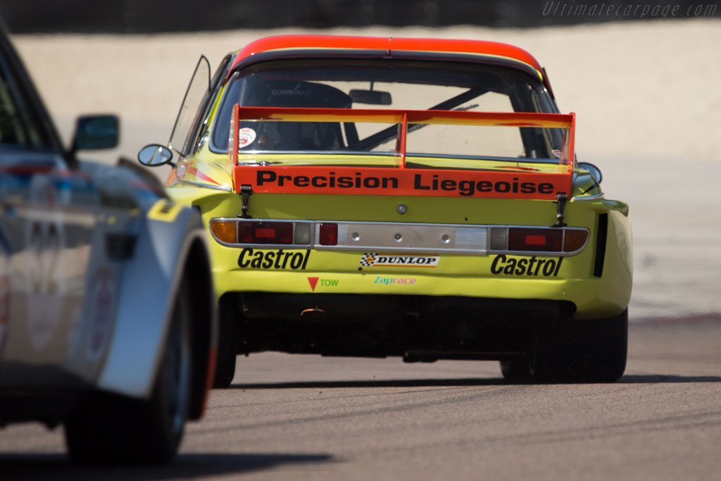 BMW 3.0 CSL - Chassis: 2211373 - Driver: Dieter Roschmann  - 2014 Grand Prix de l'Age d'Or