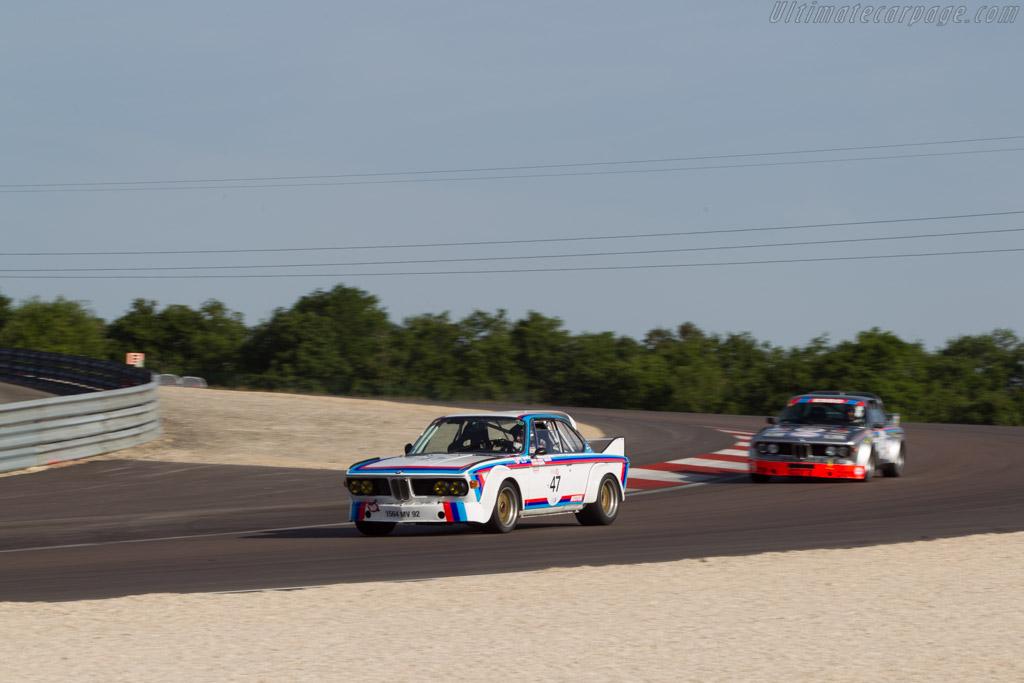 BMW 3.0 CSL - Chassis: 2200093 - Driver: Laurent Thimonier  - 2014 Grand Prix de l'Age d'Or