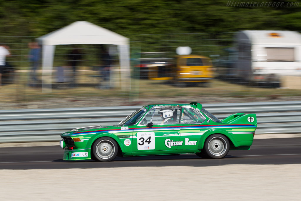 BMW 3.0 CSL - Chassis: 2240112 - Driver: Michel Mitharian  - 2014 Grand Prix de l'Age d'Or