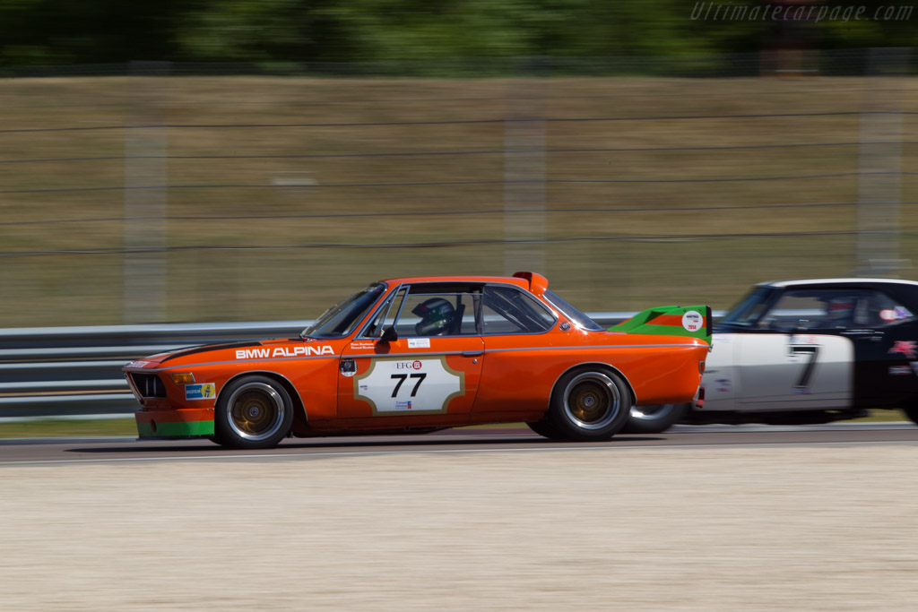 BMW 3.0 CSL - Chassis: 2211365 - Driver: Charles Firmenich  - 2014 Grand Prix de l'Age d'Or