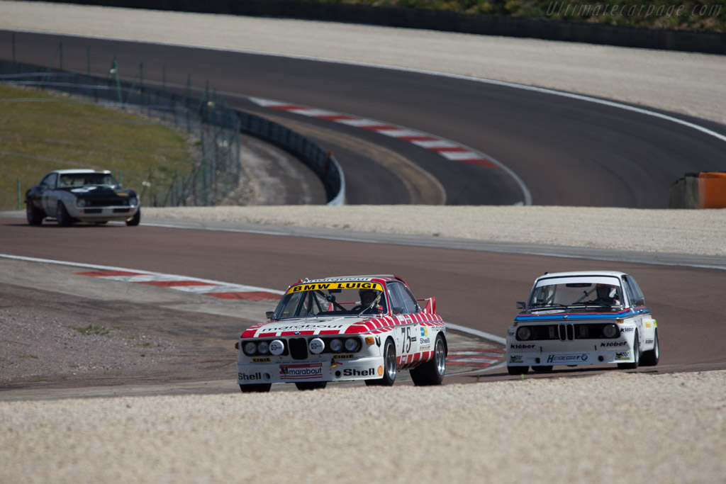 BMW 3.0 CSL - Chassis: A04-75 - Driver: Eric Mestdagh / Pierre-Alain Thibaut  - 2014 Grand Prix de l'Age d'Or