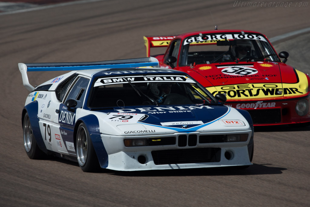bmw m1 group 4 chassis 4301040 driver robert boos pascal goury 2014 grand prix de l. Black Bedroom Furniture Sets. Home Design Ideas