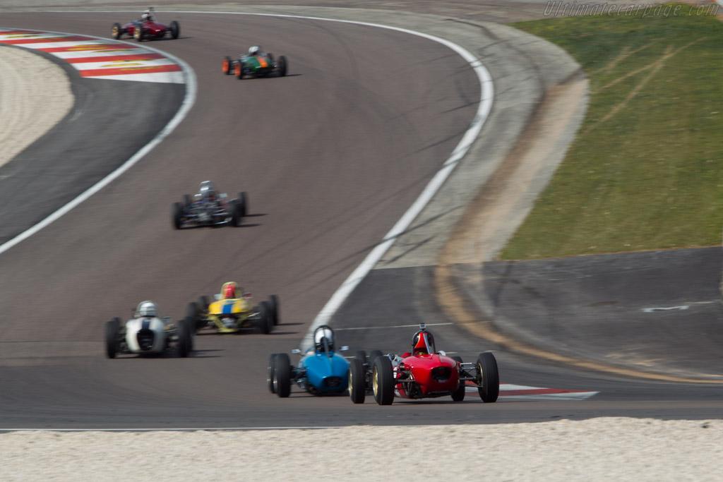 Brabham BT2  - Driver: Jens Rauschen  - 2014 Grand Prix de l'Age d'Or