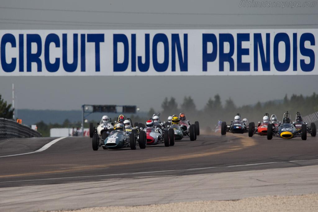 Brabham BT6  - Driver: Jonathan Hugues  - 2014 Grand Prix de l'Age d'Or