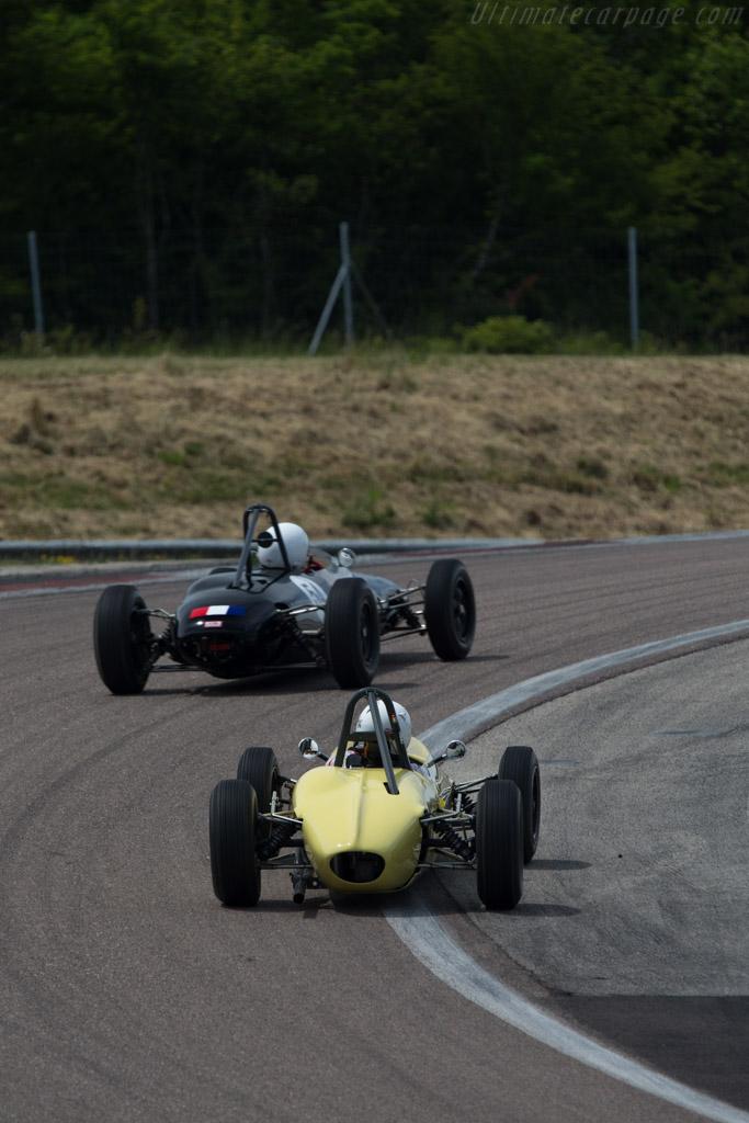 Brabham BT6  - Driver: Piero Tonetti  - 2014 Grand Prix de l'Age d'Or