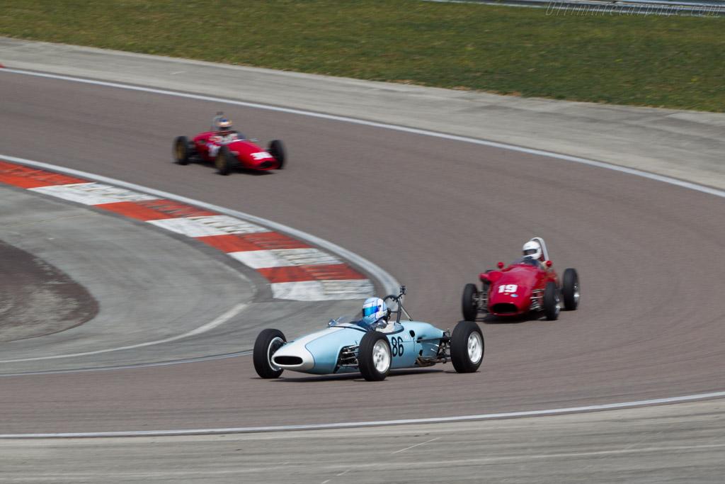 Brabham BT6  - Driver: Caroline Abbou Rossi di Montelara  - 2014 Grand Prix de l'Age d'Or