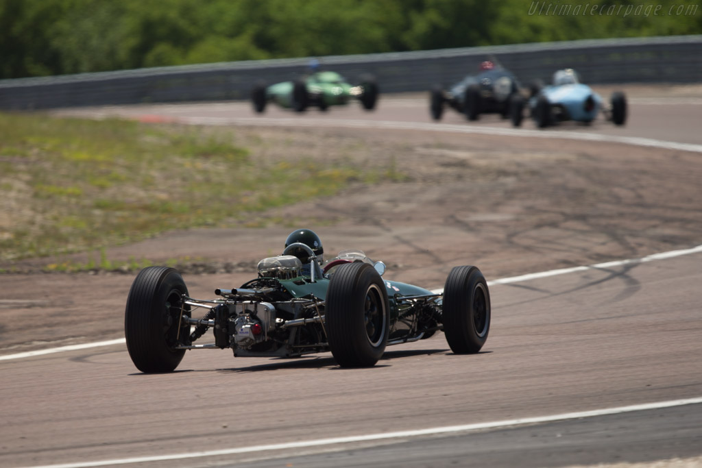 Brabham BT7 Climax - Chassis: F1-1-63 - Driver: James King  - 2014 Grand Prix de l'Age d'Or