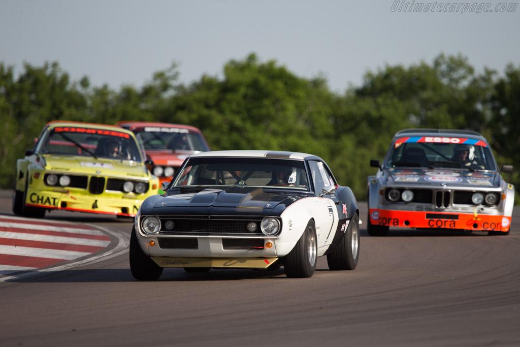 Chevrolet Camaro Z28  - Driver: Eric Broutin / Benjamin de Fontes  - 2014 Grand Prix de l'Age d'Or