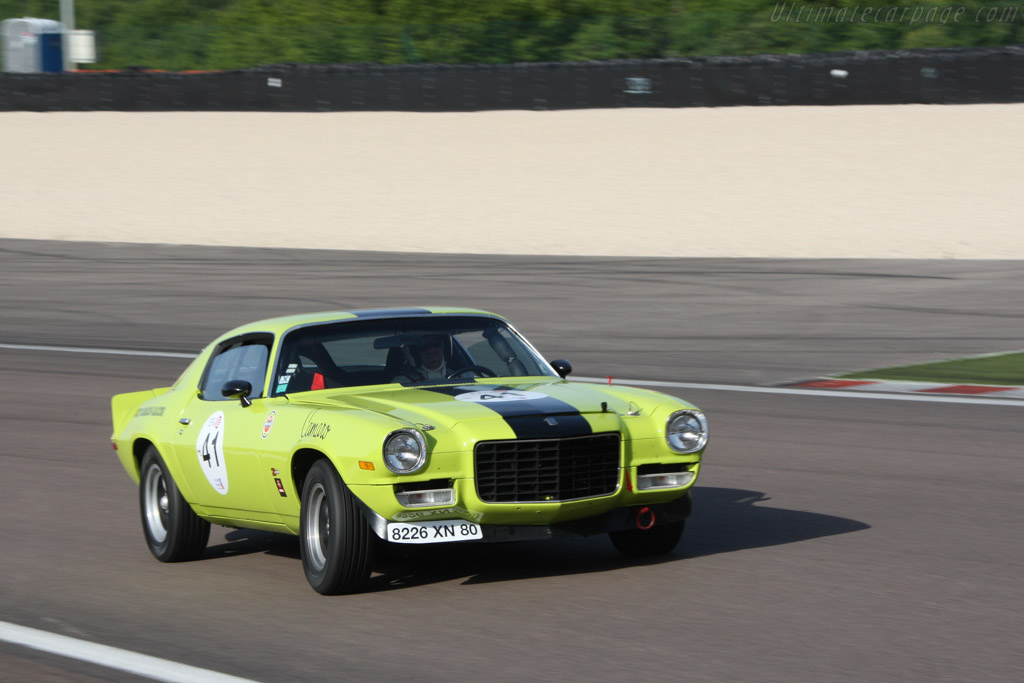 Chevrolet Camaro Z28 - Chassis: 70-12487BL12292 - Driver: Geoffrey Peter / Yvan Mahe  - 2014 Grand Prix de l'Age d'Or