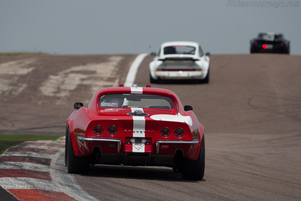 Chevrolet Corvette - Chassis: 194378S419425 - Driver: Ralf Huber-Gutierrez  - 2014 Grand Prix de l'Age d'Or