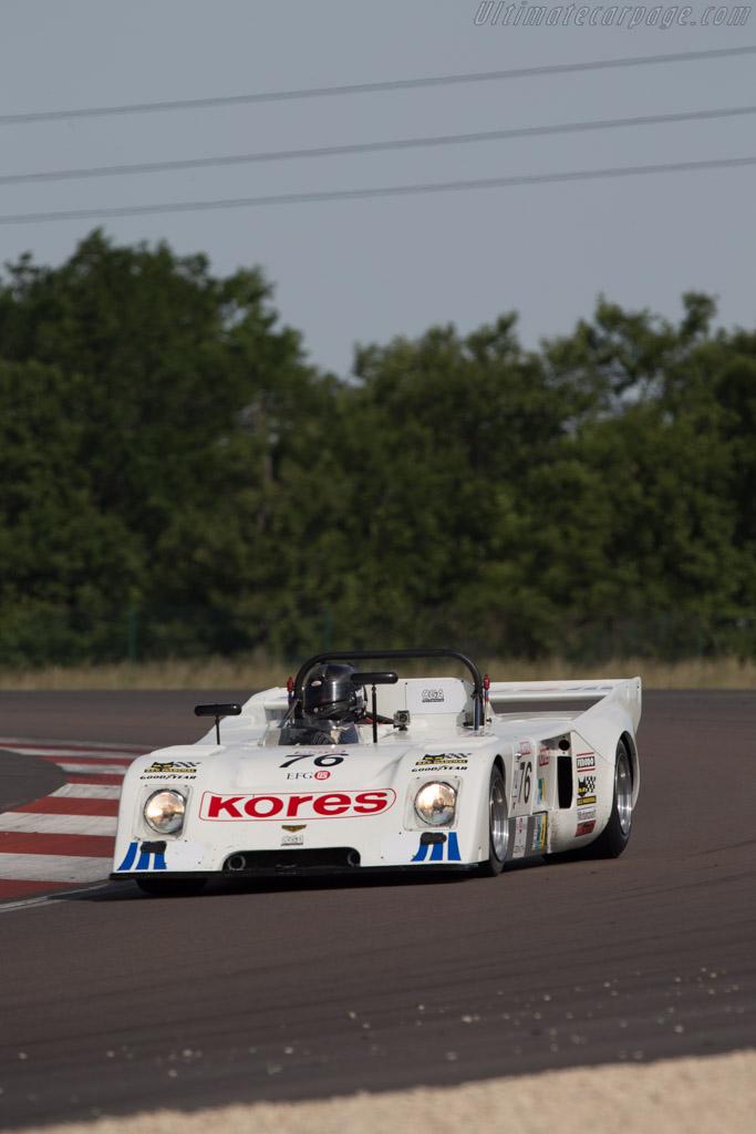 Chevron B31 - Chassis: B31-75-01 - Driver: Mike Smith  - 2014 Grand Prix de l'Age d'Or