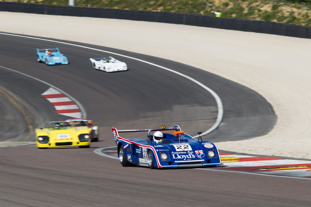 Chevron B31 Hart - Chassis: B31-75-04 - Driver: Russell Busst  - 2014 Grand Prix de l'Age d'Or