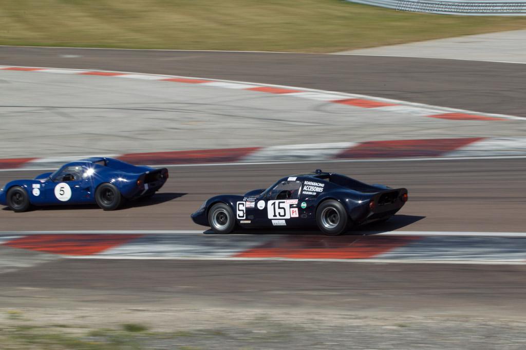 Chevron B8 BMW - Chassis: CH-DBE-71 - Driver: John Emberson / Bill Wykeham  - 2014 Grand Prix de l'Age d'Or