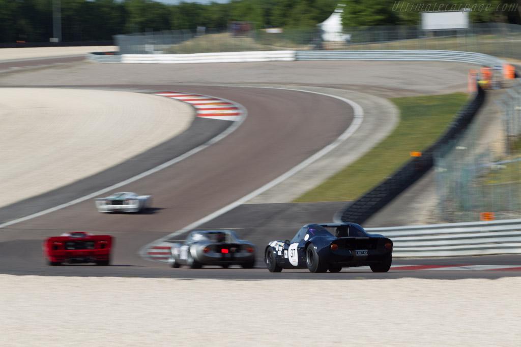 Chevron B8 BMW - Chassis: CH-DBE-37 - Driver: Eric Perou / Luc Cheminot  - 2014 Grand Prix de l'Age d'Or