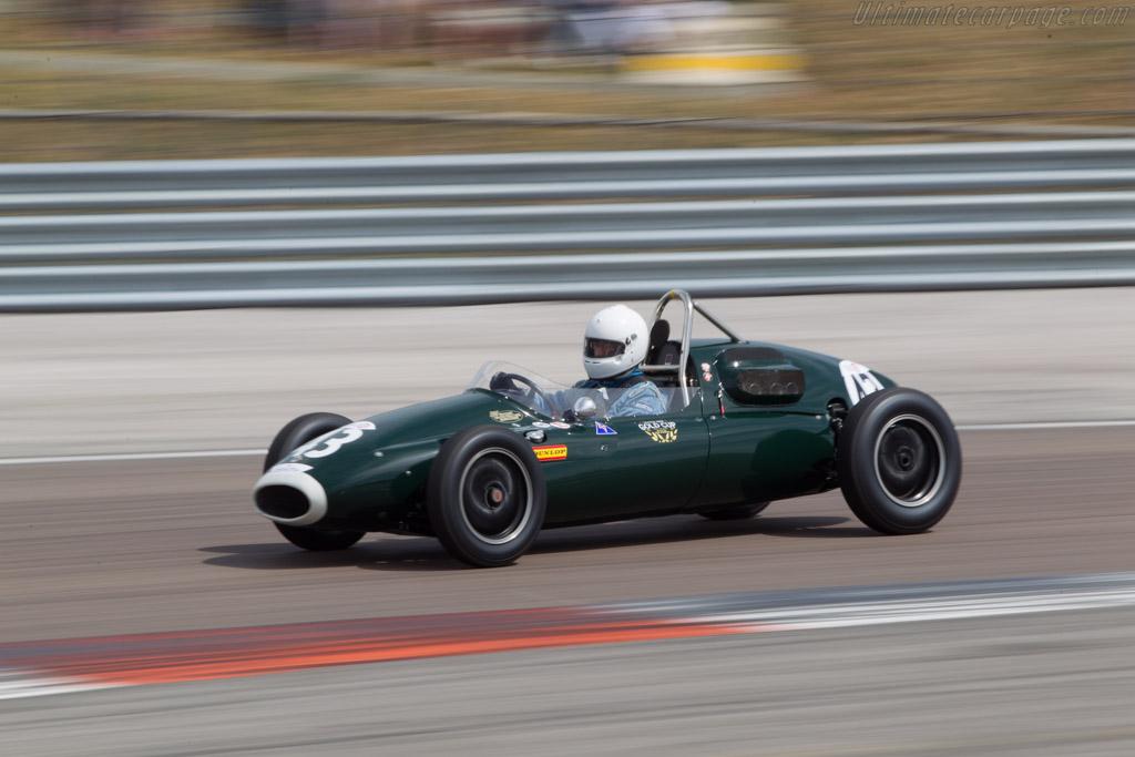 Cooper T43 Climax - Chassis: F2-27-57 - Driver: Chris Wilson  - 2014 Grand Prix de l'Age d'Or