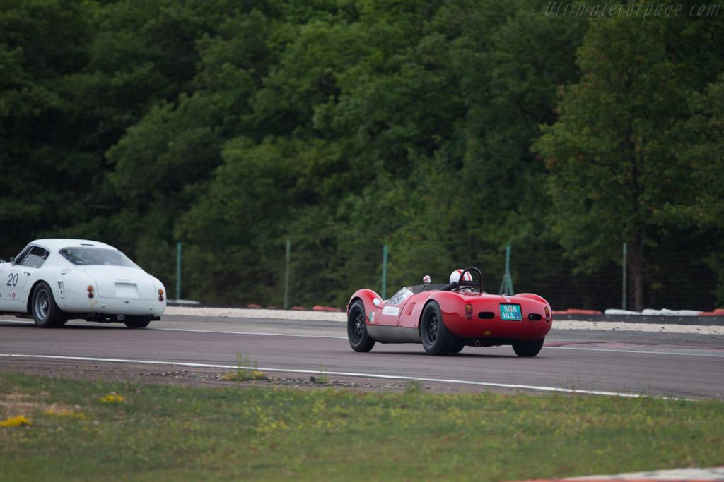 Cooper T49 Monaco Maserati - Chassis: CM-5-59 - Driver: Egon Hofer  - 2014 Grand Prix de l'Age d'Or