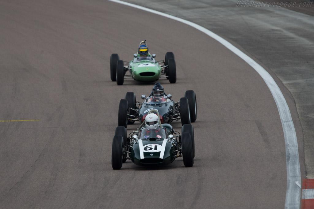 Cooper T53 Climax  - Driver: Rainer Ott  - 2014 Grand Prix de l'Age d'Or