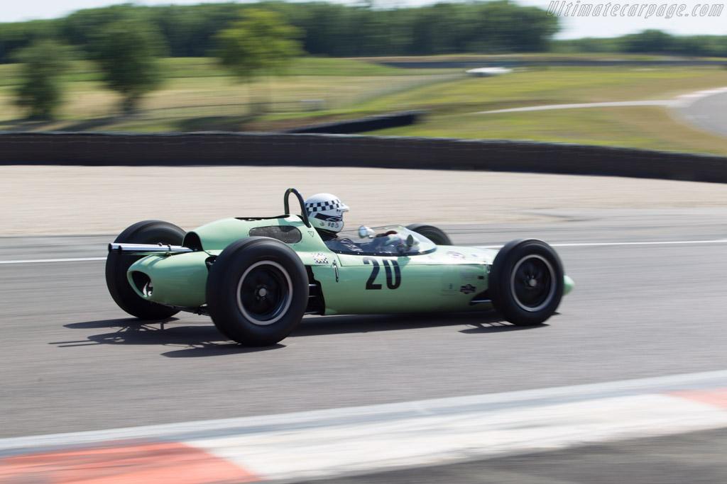 Cooper T56/59 Climax  - Driver: Anthony Goddard  - 2014 Grand Prix de l'Age d'Or