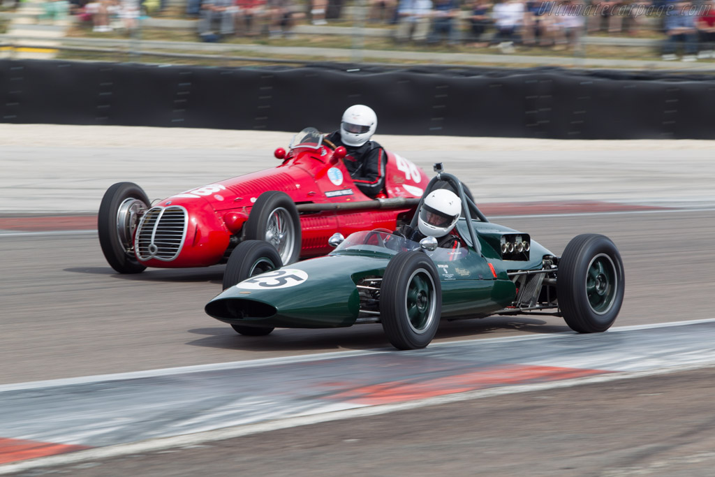 Emeryson F2/F1  - Driver: Albert Streminski  - 2014 Grand Prix de l'Age d'Or