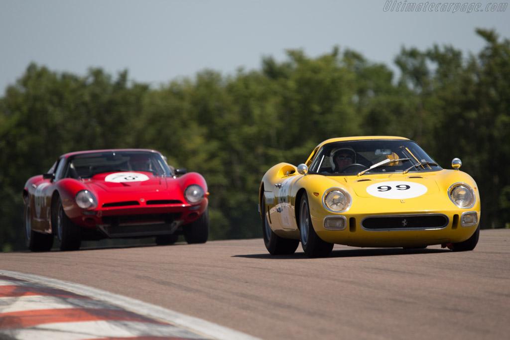 Ferrari 250 LM - Chassis: 6313 - Driver: Carlos Monteverde  - 2014 Grand Prix de l'Age d'Or