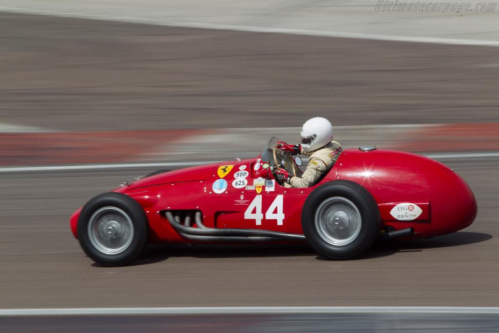 Ferrari 500/625 F1 - Chassis: 0482 - Driver: Alexander Boswell  - 2014 Grand Prix de l'Age d'Or