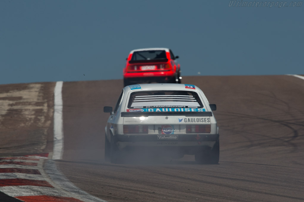 Ford Capri 3000 Mk3  - Driver: David Thomas  - 2014 Grand Prix de l'Age d'Or