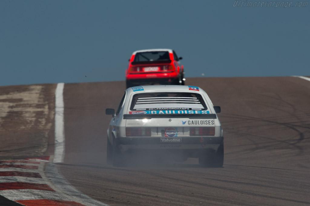 Ford Capri 3000 Mk3  - Driver: David Thomas  - 2014 Grand Prix de l'Age d'Or