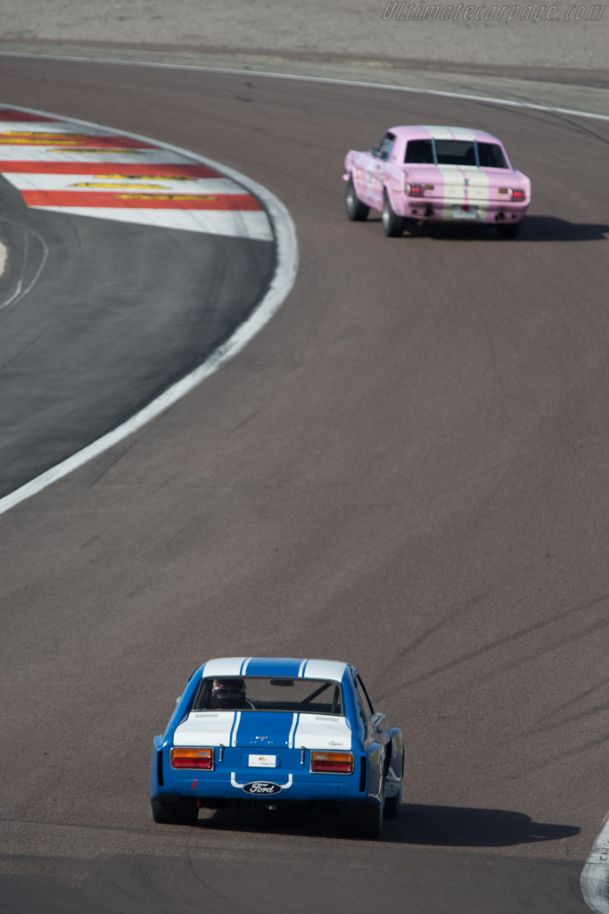 Ford Capri RS 2600  - Driver: David Ferrer / Mr John of B.  - 2014 Grand Prix de l'Age d'Or