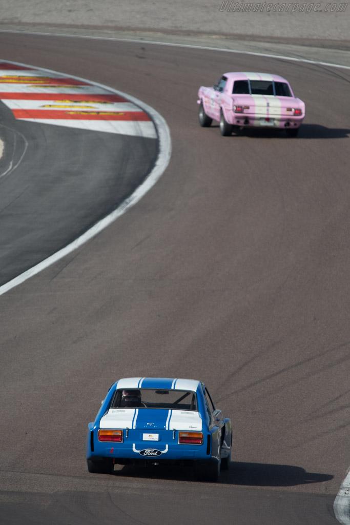 Ford Capri RS 2600  - Driver: David Ferrer / Mr John of B.  - 2014 Grand Prix de l'Age d'Or