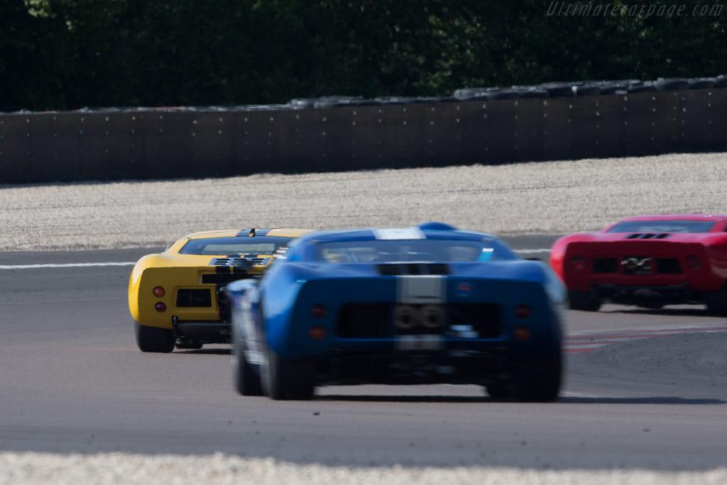 Ford GT40 - Chassis: GT40P/1027 - Driver: Christian Dumolin / Christophe van Riet  - 2014 Grand Prix de l'Age d'Or