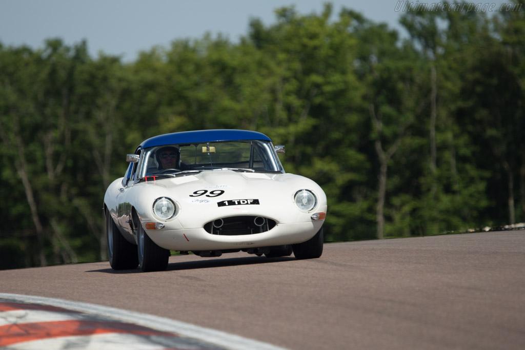 Jaguar E-Type - Chassis: 878454 - Driver: Carlos Monteverde  - 2014 Grand Prix de l'Age d'Or