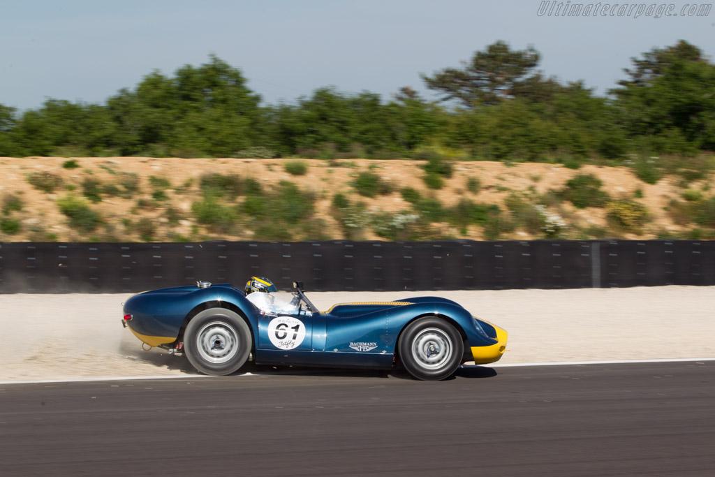 Lister Knobbly Jaguar  - Driver: Pierre Perret  - 2014 Grand Prix de l'Age d'Or