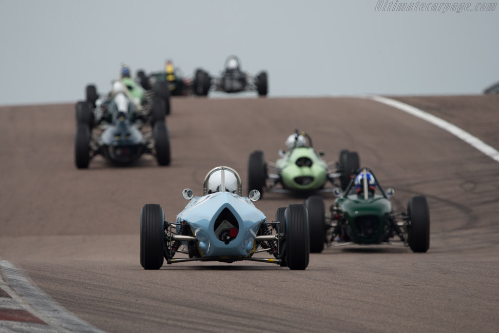 Lola Mk3 Climax - Chassis: BRJ38 - Driver: Barry Cannell  - 2014 Grand Prix de l'Age d'Or