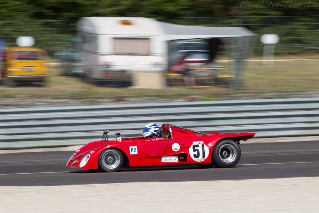Lola T290 - Chassis: HU34 - Driver: Gianluca Rattazzi  - 2014 Grand Prix de l'Age d'Or