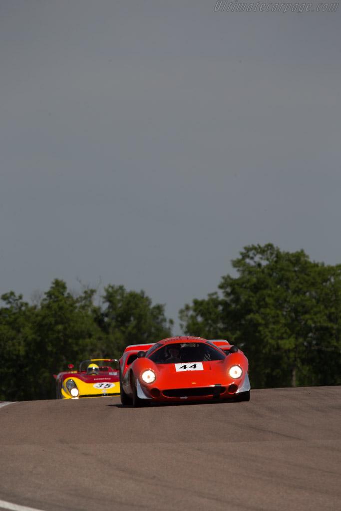 Lola T70 Mk3 Coupe - Chassis: SL73/133 - Driver: David Ferrer  - 2014 Grand Prix de l'Age d'Or