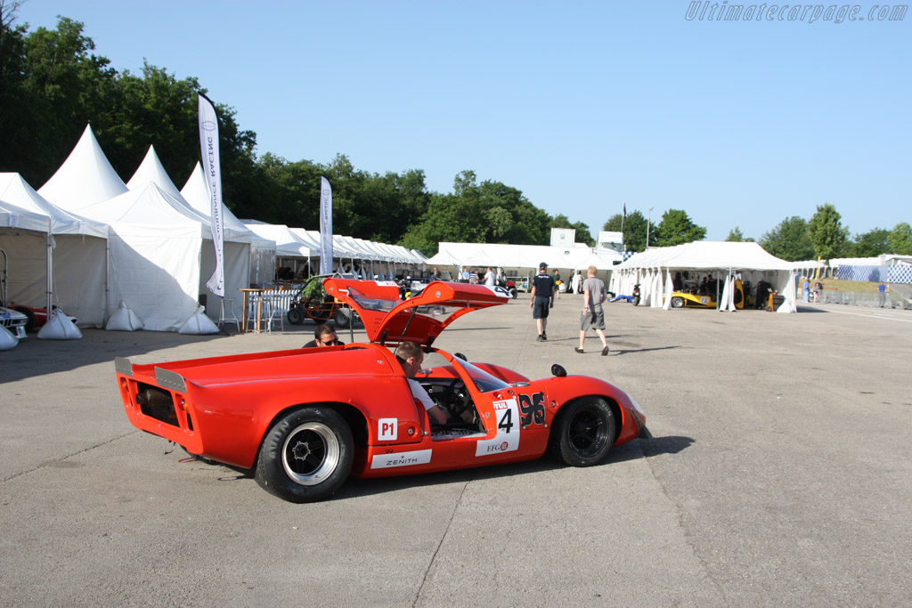 Lola T70 Mk3 Coupe - Chassis: SL73/133 - Entrant: David Ferrer  - 2014 Grand Prix de l'Age d'Or