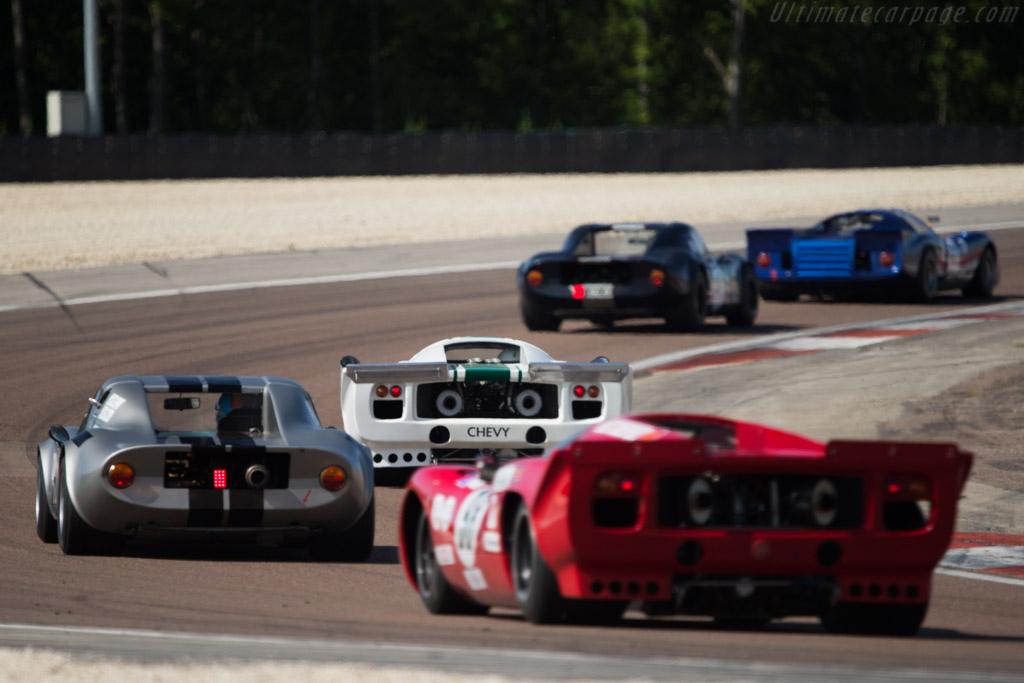 Lola T70 Mk3B Coupe - Chassis: SL76/138 - Driver: Carlos Monteverde  - 2014 Grand Prix de l'Age d'Or
