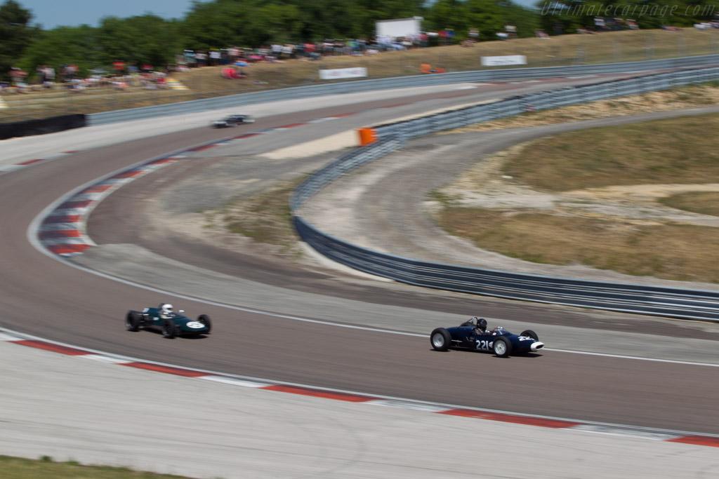 Lotus 18/21 Climax - Chassis: P1 - Driver: Peter Horsman  - 2014 Grand Prix de l'Age d'Or