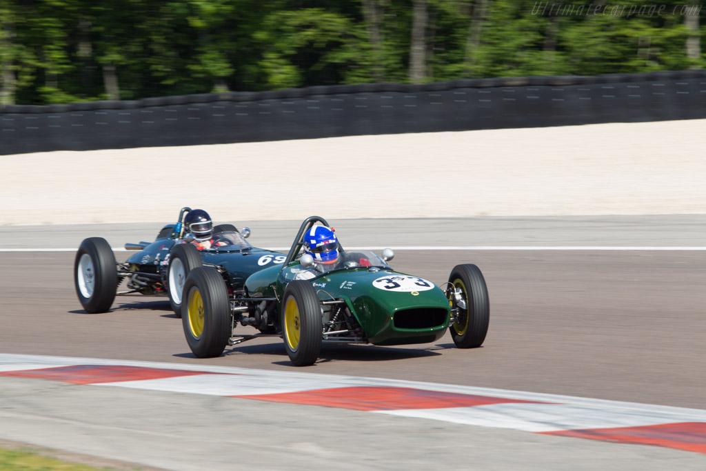 Lotus 18 Climax - Chassis: 370 - Driver: Andrea Guarino  - 2014 Grand Prix de l'Age d'Or