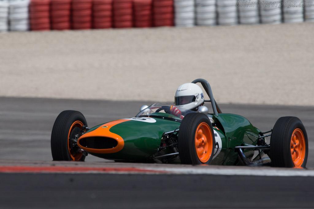 Lotus 20/22 - Chassis: 20FJ855 - Driver: Urs Mueller  - 2014 Grand Prix de l'Age d'Or