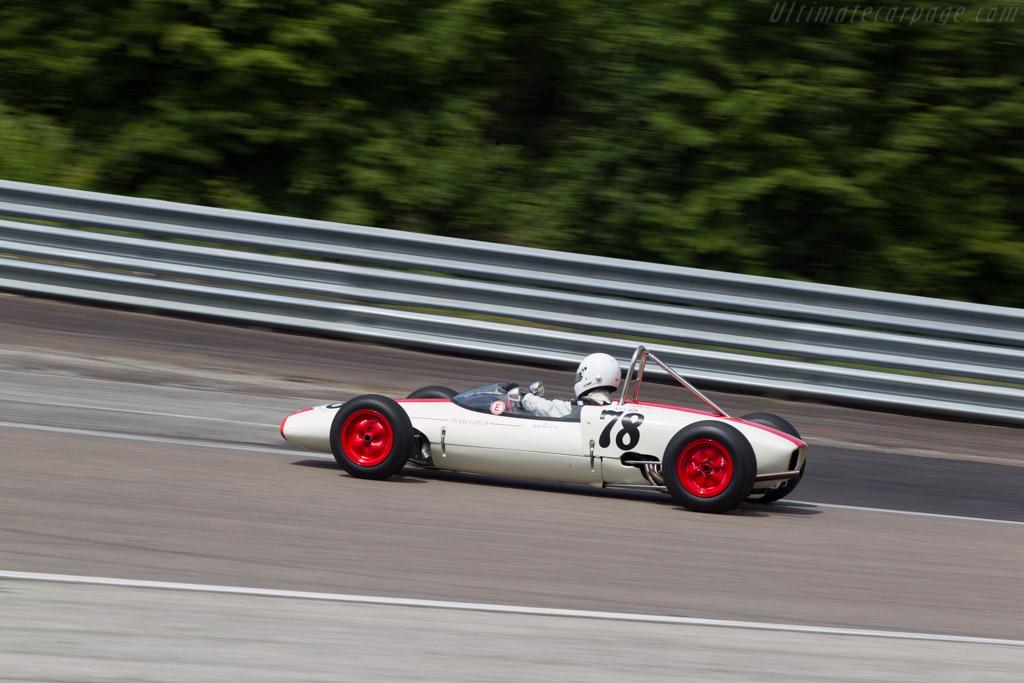 Lotus 20/22 - Chassis: 20FJ820 - Driver: Peter Waefler  - 2014 Grand Prix de l'Age d'Or